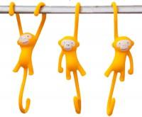 Подарок Крючки для кухни Monkey Business 'Just Hanging', желтые (MB938)