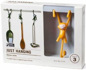 фото Крючки для кухни Monkey Business 'Just Hanging', желтые (MB938) #4