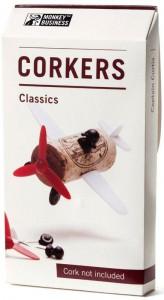 Подарок Набор украшений для пробки Monkey Business 'Plane Captain Curtis Corkers Classics' (MB911)