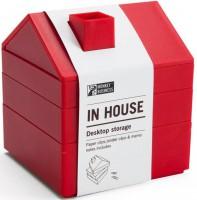 Подарок Органайзер для канцелярии Monkey Business 'In House', красный (MB871)