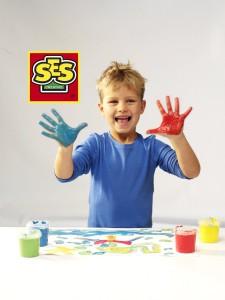 фото Пальчиковые краски Ses Creative 'Мои первые рисунки' (0305S) #4