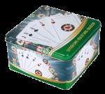 Подарок Покерный набор в жестяной коробке (HRC203)