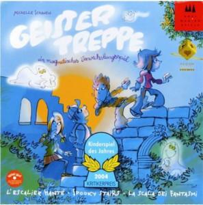 Настольная игра Drei Magier Spiele 'Лестница с привидениями' (с рус. правилами в коробке) (40811)