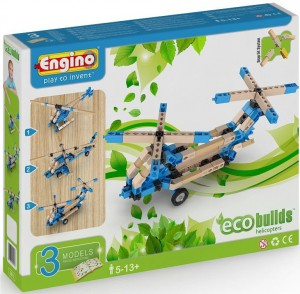 Конструктор Engino 'Вертолеты', 3 модели (EB13)