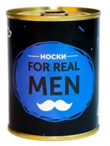 Подарок Консерва-носок 'For real man' (CNN1101)