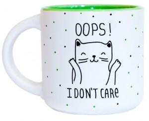 Подарок Чашка 'Oops I don't care' 350 мл (PDP3411)