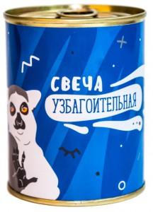 Подарок Консерва-свеча 'Свеча Узбагоительная' (CNS1307)