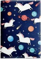 Подарок Обложка для паспорта 'Единорог' (PDK2319)