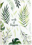 Подарок Обложка для паспорта 'Make it happen' (PDK2307)