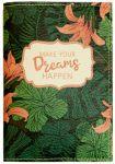 Подарок Обложка для паспорта 'Make your dreams happen' (PDK2308)