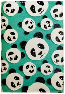 Подарок Обложка для паспорта 'Панда' (PDK2325)
