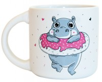 Подарок Чашка 'Donut Worry' 350 мл (PDP3404)