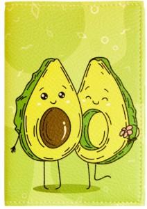 Подарок Обложка для паспорта 'Авокадо' (PDK2315)
