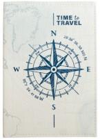 Подарок Обложка для паспорта 'Компас' (PDK2321)