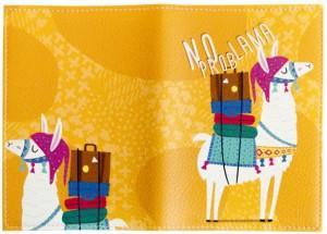фото Обложка для паспорта 'No prob lama' (PDK2310) #3