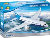 Конструктор COBI 'Самолет Boeing 737 Max 8', 320 деталей (COBI-26175)