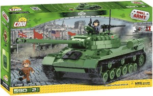 Конструктор COBI 'Танк ИС-3', 590 деталей (COBI-2492)
