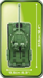 фото Конструктор COBI 'Танк ИС-3', 590 деталей (COBI-2492) #4