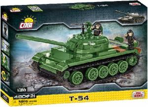 Конструктор COBI 'Танк Т-54', 480 деталей (COBI-2613)