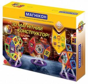 3D магнітний конструктор 'Магнікон' (46 дет.) (МK-46)
