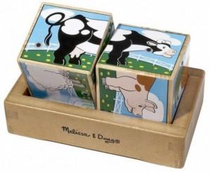 Звуковые кубики Melissa Doug 'Ферма ' (MD1196)