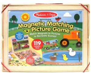 Деревянный магнитный набор Melissa & Doug  (MD9918)