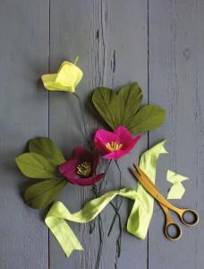 фото страниц Всем цветы! Роскошные цветочные композиции из бумаги. Практическое руководство для начинающих #3