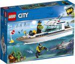 Конструктор Lego City 'Яхта для дайвинга ' (60221)