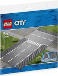 Конструктор Lego City 'Боковая и прямая дорога' (60236)