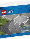Конструктор Lego City 'Поворот и перекрёсток '(60237)