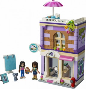 фото Конструктор Lego Friends 'Художественная студия Эммы '(41365) #2