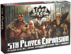 Настольная игра Crowd Games 'Кровь и Ярость: Пятый игрок' (BLR502)
