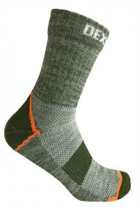 Водонепроницаемые носки DexShell Terrain Walking Ankle Socks (DS848HPGM)
