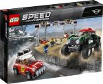 Конструктор LEGO Speed Champions 'Автомобили 1967 Mini Cooper S Rally и 2018 MINI John Cooper Works Buggy '(75894)