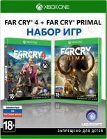 игра Far Cry 4 + Far Cry Primal Xbox One - русская версия