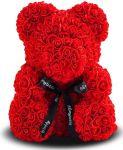 Подарок Мягкая игрушка UFT Bear Flowers B1 Red Мишка из роз 25 см (B1Red)