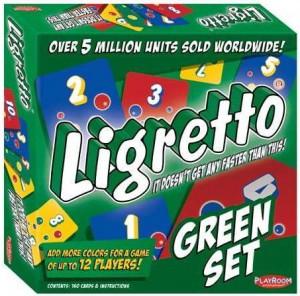 Настольная игра Schmidt Spiele 'Лигретто зеленый' (01209)