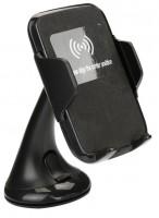Безпроводная автомобильная зарядка для телефона UFT Air Charge WC2 black (UFTWC2)