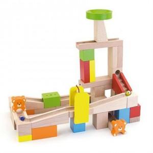 Деревянный динамический конструктор Viga Toys 'Занимательные горки' (51619)