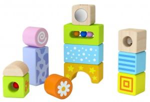 Деревянный конструктор Viga Toys 'Погремушки' (50682)