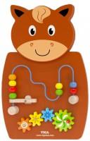 Головоломка настенная Бизиборд Viga Toys 'Лошадь с лабиринтом' (50678)