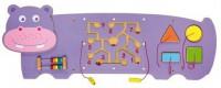 Игровой центр-бизиборд Viga Toys 'Бегемот' (50470)