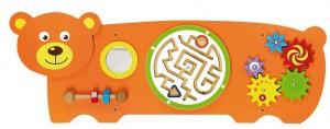 Игровой центр-бизиборд Viga Toys 'Медведь' (50471)