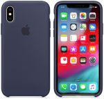 Чехол для смартфона Apple iPhone XS Max Silicone Case - Midnight Blue (MRWG2)