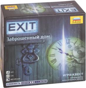 Настольная игра Zvezda 'Exit Квест. Заброшенный дом' (8718)