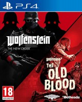 игра Wolfenstein: The New Order + Wolfenstein: The Old Blood PS4 - Русская версия