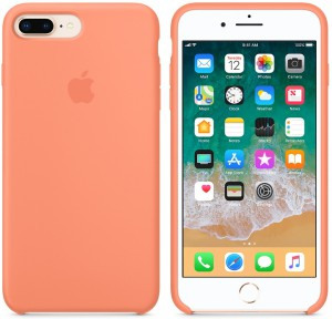 Чехол для смартфона Apple iPhone 8 Plus / 7 Plus Silicone Case - Peach (MRR82)