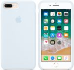 Чехол для смартфона Apple iPhone 8 Plus / 7 Plus Silicone Case - Sky Blue (MRR92)