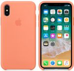 Чехол для смартфона Apple iPhone X Silicone Case - Peach (MRRC2)