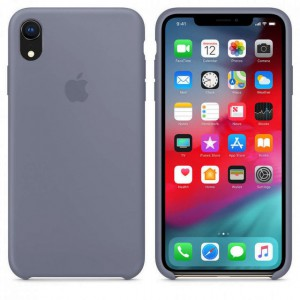 Чехол для смартфона Apple iPhone XR Silicone Case - Lavender Grey